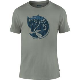 Fjällräven Arctic Fox Camiseta Hombre, gris